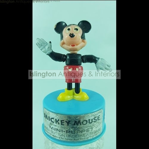 WALT DISNEY MICKEY MOUSE MINI PUPPET TOY - Islington Antiques and ...