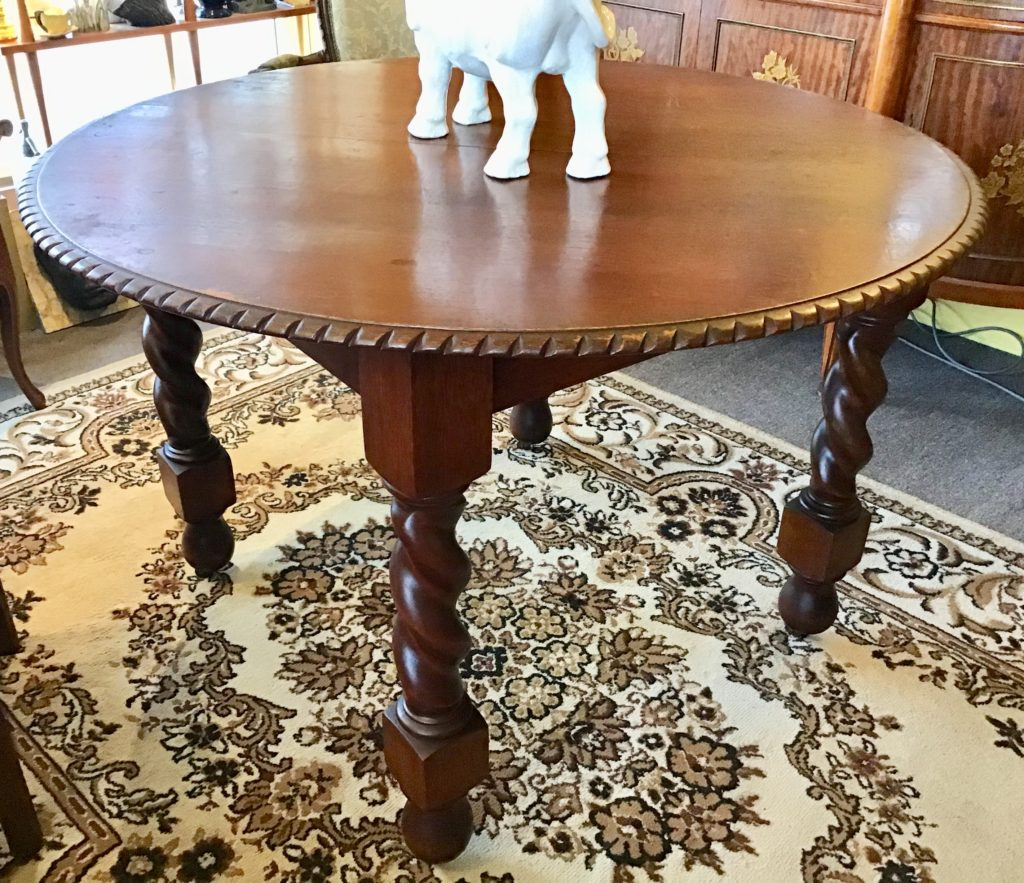 JACOBEAN ROUND DINING TABLE - Islington Antiques and Interiors